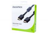 DACOMEX Cordon DisplayPort 1.2 - 3 m