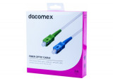 DACOMEX Jarretière simplex OS2 SC-APC / SC-UPC - 3 m