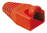 Manchon RJ45 rouge snagless diamètre 5,5 mm (sachet de 10 pcs)