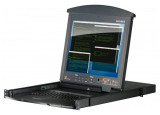 "Aten KL1508AN Console LCD 19"" double rail & KVM 8 ports Cat5"