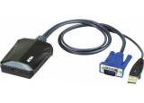 ATEN CV211 adaptateur console KVM VGA/USB sur PC portable