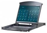"""Aten KL1508AiM console LCD 17"""" KVM IP 8 ports RJ45"""