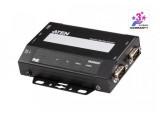 ATEN SN3002P serveur RS-232 2x DB9 Sécurisé sur IP PoE