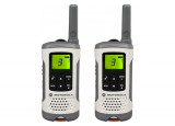 MOTOROLA TLKR T50 2 Talkies Walkies 6 Kms blanc