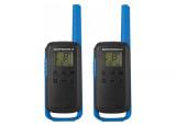 Motorola TLKR T62 2 Talkies Walkies 8 KMS bleu