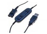 DACOMEX cordon USB Skype Pro pour casque PERLE & POLY EncorePro