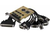 SUNIX SER5066A Carte PCI 8 ports série RS232 DB9 sur Pieuvre DB44