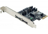 Carte SATA II PCI-Express 2 canaux 4 ports int./ext.
