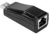 DEXLAN Adaptateur réseau USB 2.0 RJ45 10/100 - en monobloc