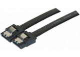 Câble sata 6GB/s slim sécurisé (noir) - 75 cm