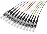 PIGTAIL OM3 ST/UPC LSOH 12 CONNECTEURS - 2m