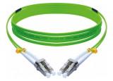 Jarretière optique duplex HD multi OM5 50/125 LC-UPC/LC-UPC vert - 3 m