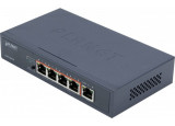 PLANET GSD-504UP Switch 5p Gigabit dont 2 PoE+ 2 PoE++ 120W
