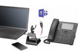 POLY Voyager 5200 Office Teams Oreillette Base TEL/GSM/USB-C