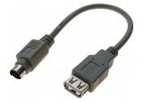 ADAPTATEUR USB 2.0 A F / MDIN6 M GRIS 0,2 M