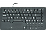 Clavier /touchpad compact en silicone rigide usb noir
