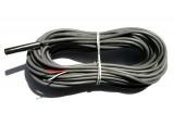 Capteur de température sur cable RJ11 -10°+80°C - 10m IP67