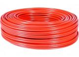 Câble Ethernet CAT5e F/UTP multibrin - Rouge - 100m