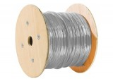 Câble Ethernet multibrins F/UTP CAT5E GRIS - 500M
