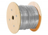 Câble Ethernet Multibrins F/UTP CAT5E GRIS - 1000M