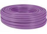 DEXLAN câble monobrin F/UTP CAT6 violet LS0H RPC Dca - 100 m