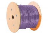 Dexlan double mono f/ftp CAT6A violet LS0H rpc eca - 305M