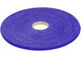 Rouleau de lien auto-agrippant bleu 16 mm en 20 m