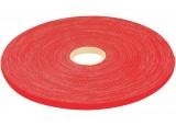 Rouleau lien auto agrippant rouge 9 mm en 20 m