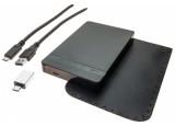 """Dexlan boîtier externe Type-C USB 3.1 Gen.1 disque 2.5"""" SATA"""