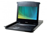"DEXLAN CONSOLE LCD 18,5"" 1080P FULL HD 4P KVM VGA/USB +Câble"