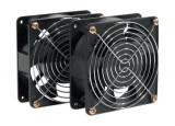 DEXLAN Kit 2 ventilateurs de toit pour baie ou coffret