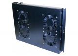 """Unité 19"""" 4 ventilateurs pour baie réseau et baie serveur"""