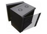 """DEXLAN Coffret WM-60 Double section 19"""" 12U profondeur 550 mm (noir)"""