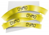Ruban plastique dymo noir/jaune 12MM pour letratag