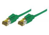 Câble RJ45 CAT 7 S/FTP a connecteurs CAT 6a - Vert - (20m)