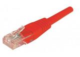 Câble RJ45 CAT 6 ECO U/UTP - Rouge - (0,3m)