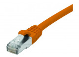 Câble RJ45 CAT6 F/UTP Snagless LSOH - Orange - (15m)