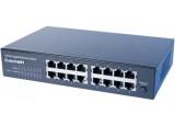 """Dexlan switch 16 ports Gigabit rackable 10"""" et 19"""""""