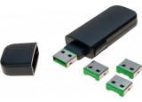 Clé de sécurisation pour port USB type A encodage VERT