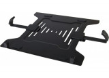 "Support notebook ajustable 10""-17"" sur bras LCD VESA 75/100"