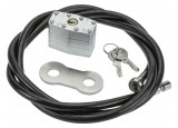Securityxtra Câble antivol ProLock 8mm à cadenas renforcé - 1,5m