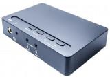 CARTE SON USB 2.0 Externe 7.1 ANALOGIQUE + S/PDIF