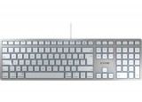 CHERRY Clavier KC 6000 FOR MAC USB argent/blanc