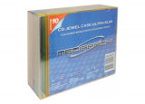 BOITIER CD SLIM 5X5 COULEURS PACK 25