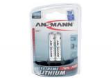 ANSMANN Piles lithium 5021013 FR03 / AAA blister de 2