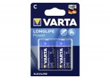 VARTA Piles alcalines 4914110412 LR14 / C blister de 2