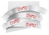 Ruban 19MM rouge sur blanc pour labelmanager 350/450/300/400