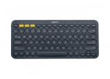 LOGITECH Clavier Bluetooth Multi-Device K380 - Noir