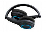 LOGITECH Casque Wireless Headset H600 - Noir/Bleu