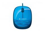 LOGITECH Souris Corded Mouse M105 - Bleu